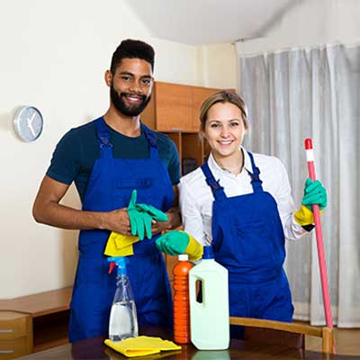 highly skilled cleaning staff